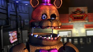 Play As Scrap Trap In A New Animatronic Location Roblox Fnaf