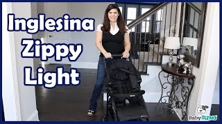 Neue Inglesina Zippy Light Kinderwagen Bewertung von Baby Gizmo