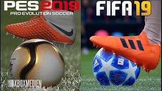 FIFA 19 vs PES 2019 Graphics Comparison (Xbox One, PS4, PC)