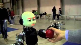 Milano Robotica, Icub Il Robot Bambino Che Sa Sorridere