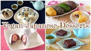 Top 10 Vegan Japanese Desserts Recipes   OCHIKERON   Create Eat Happy :)