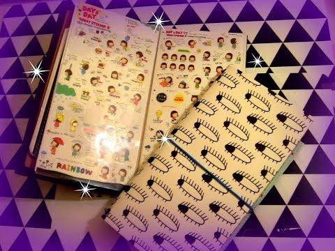 📓I miei Planner Stickers + ✂️DIY: Sticker book refill per midori📓