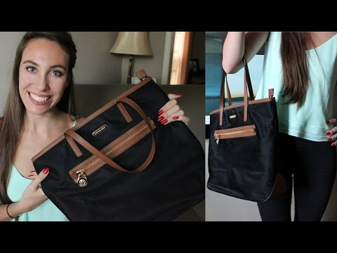 Michael Kors Kempton Large N/S Tote Review! | LexiLindon