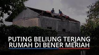 Angin Puting Beliung Terjang Dua Rumah Warga di Bener Meriah
