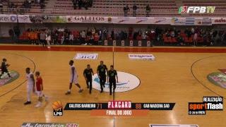 Liga Placard | Galitos Barreiro - CAB Madeira