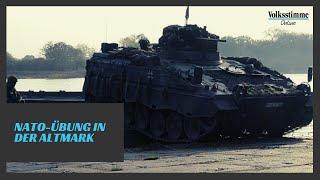 Nato-Übung in der Altmark