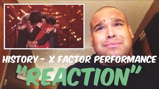 One Direction - History Performance on The X Factor Finale 2015 [Reaction]