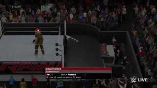 WWE 2K15 Universe Glitch