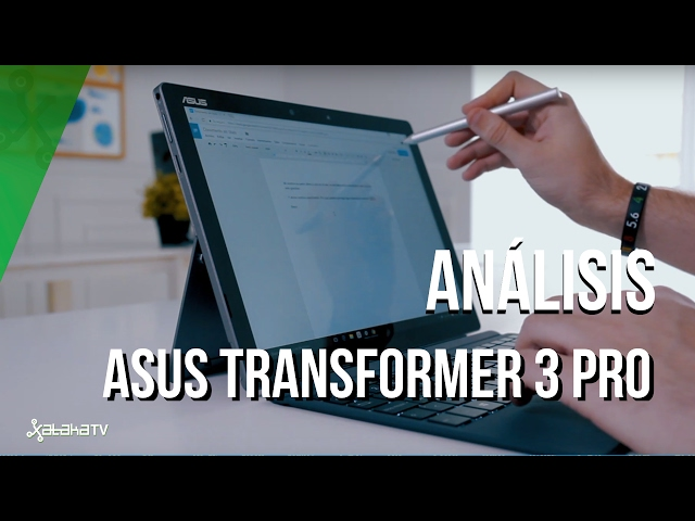Asus Transformer 3 Pro, otra copia de Surface Pro 4