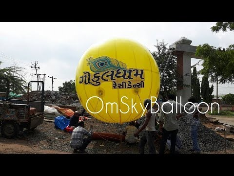 Round Shape Advertising Sky Balloon