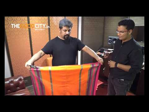 How to tie a lungi with Raghu Dixit - Youtube Video