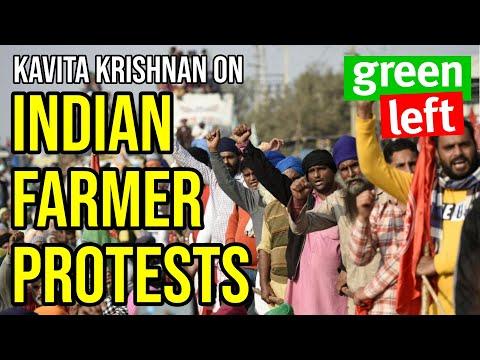 Kavita Krishnan Interview on Indian Farmer Protests