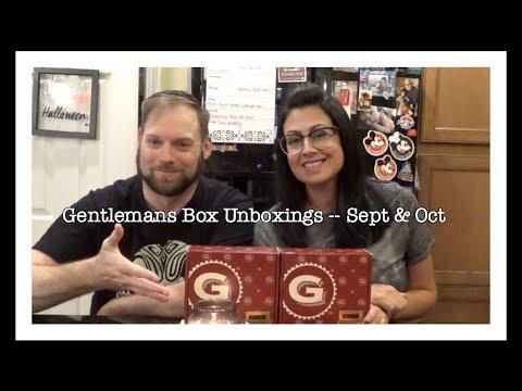 Gentlemans Box Unboxings ~ September & October