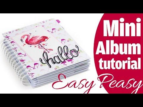 """Mini Album Tutorial """"Easy Peasy"""" für Anfänger   DEUTSCH   Geschenkidee"""