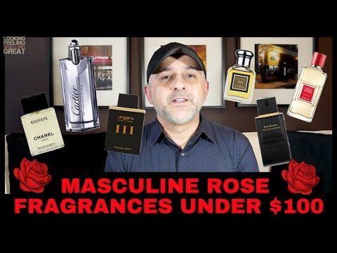 Masculine Rose Fragrances For Men | Men Can Wear Rose Perfumes 🌹🌹🌹