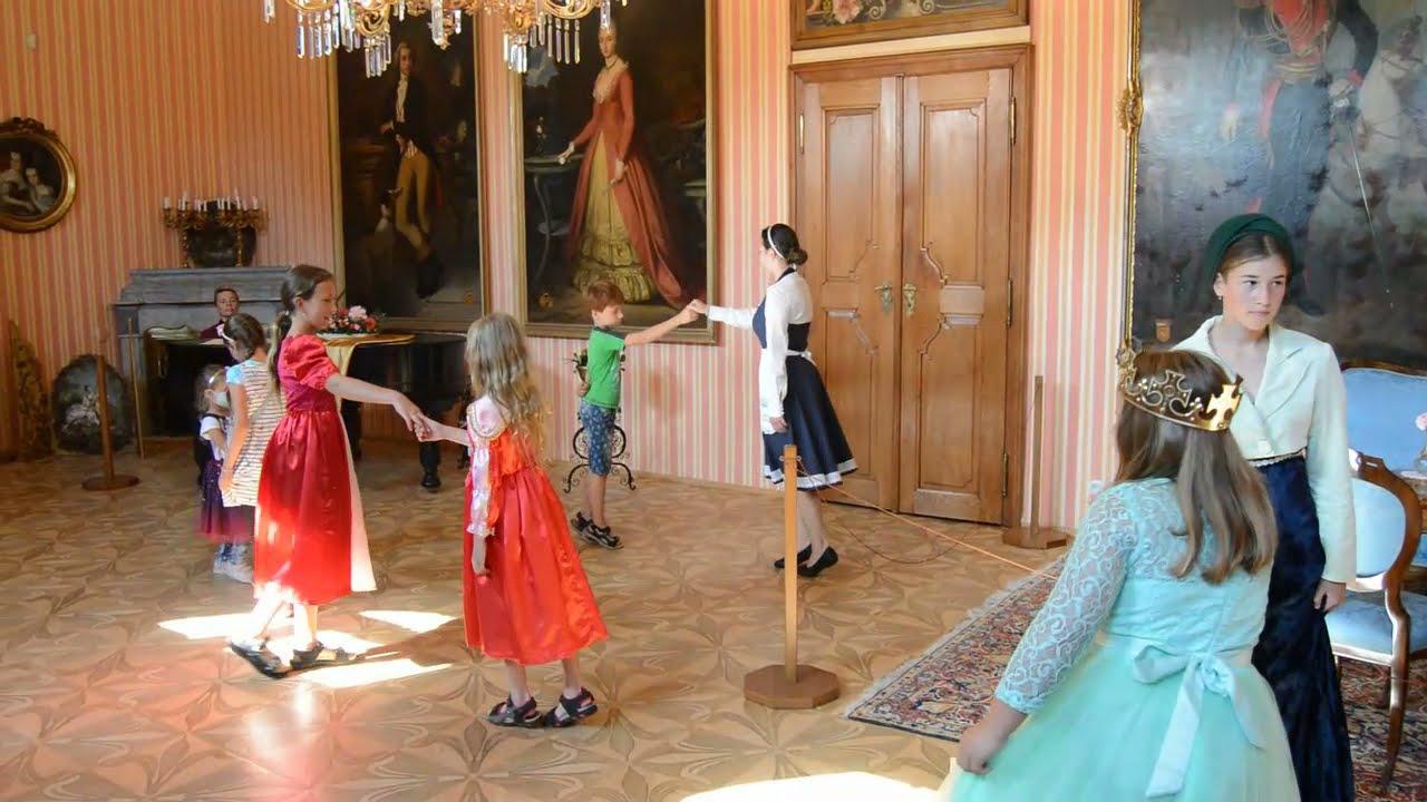 Princezny na zámku v Čechách pod Kosířem (září 2021)