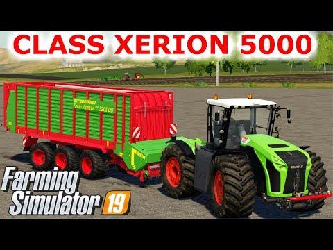 Farming Simulator 19 Mods Claas Xerion 5000 - FS 19 Mods