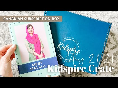 Kidspire Crate Unboxing May 2021