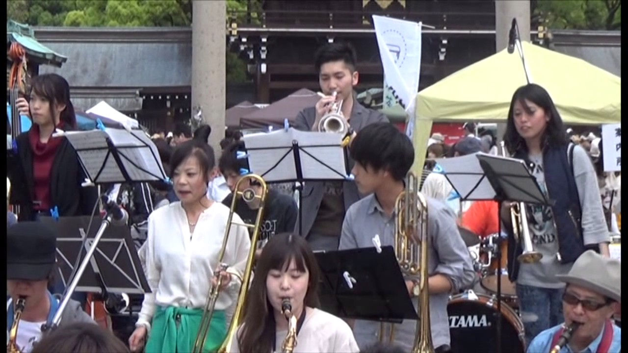 Little brown Jug(Alley Cats Big Band) 杜の宮市 2017.5.7