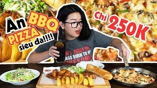 BÍ KÍP ĂN CẢ BÀN TIỆC PIZZA, GÀ NƯỚNG, SƯỜN NƯỚNG BBQ CHỈ VỚI 250K CÙNG JAMJA | THÁNH ĂN TV