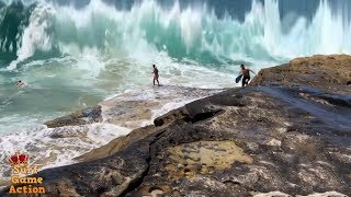 People Slammed By Massive Waves 7