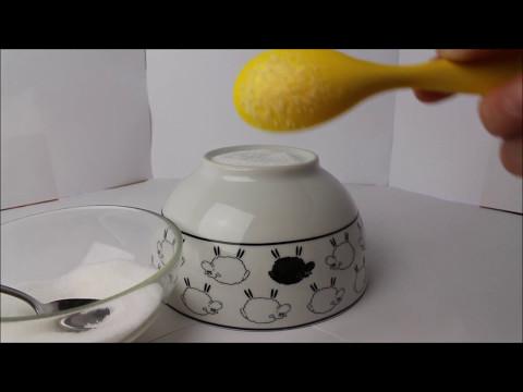 Experiment 1: Klebriger Zuckerlöffel