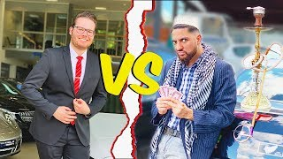 Deutsche VS Ausländer ⎮AUTO-HÄNDLER ⎮ Younes Jones