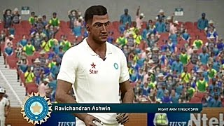 Don Bradman Cricket 17 India Vs Australia  2017 3rd Test Highlights