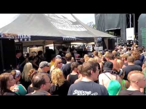 faith in exile mayhem fest scranton pa 8/4/2012