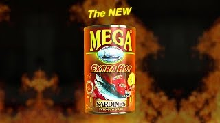 Mega Extra Hot Sardines