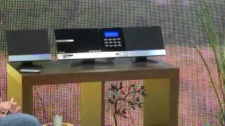 auvisio HiFi-Micro-Stereoanlage Bluetooth MSX-670.bt CD/USB/FM/Wecker