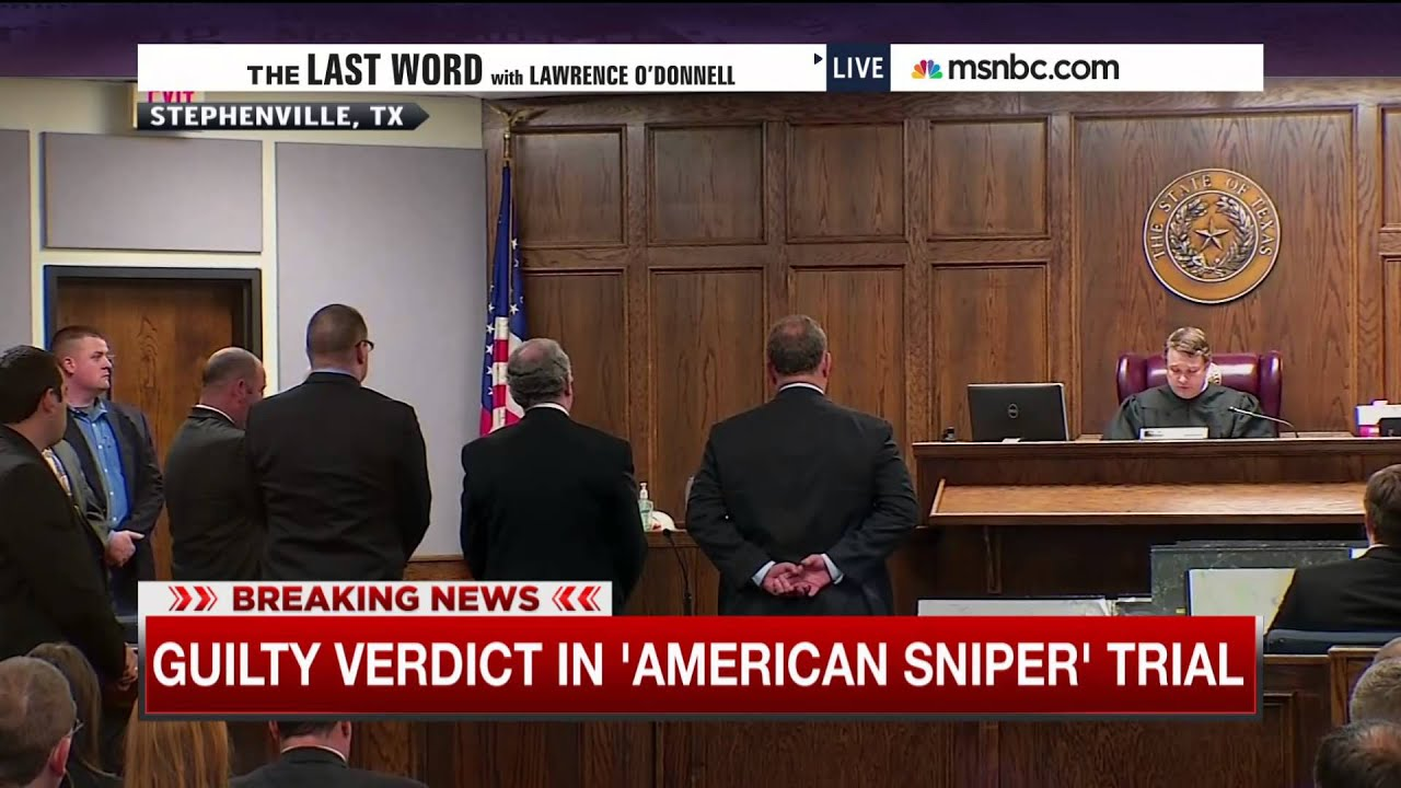 Jury Convicts 'American Sniper' Killer Eddie Ray Routh | msnbc thumbnail
