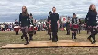 Irish Dancers Join Pipe Band for an Unforgettable Performance.