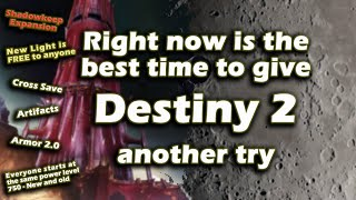 Destiny 2: New Expansion, Free Content, Everyone starts at 750 Power Level