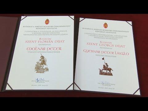Budavári Szent György és Szent Flórián díjak 2019 - video preview image