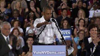 Obama en campagne pour les démocrates avant les élections