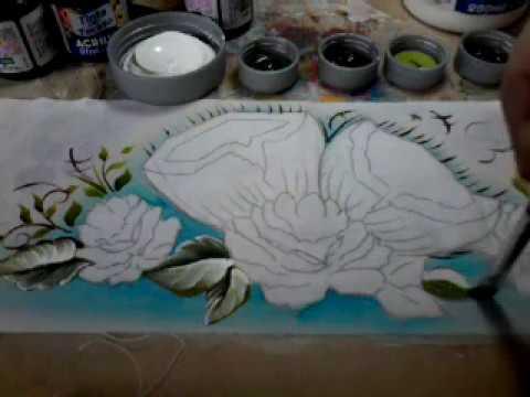 Pintura Em Tecido Como Pintar Rosa E Coco 2 смотреть онлайн на Hah