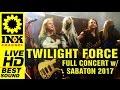 TWILIGHT FORCE - Full Concert in GREECE w/ SABATON [9/3/2017]