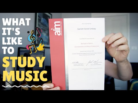 What it's like studying a bachelor of Music composition & music production at University