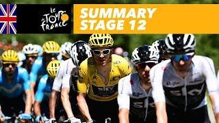 Summary - Stage 12 - Tour de France 2018