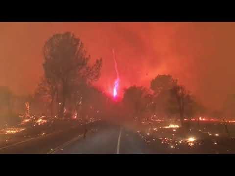 الفردوس يحترق في كاليفورنيا