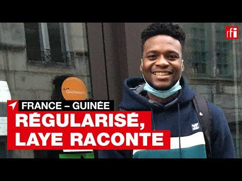 Besançon : Laye Fodé Traoré raconte le combat pour sa régularisation Besançon : Laye Fodé Traoré raconte le combat pour sa régularisation