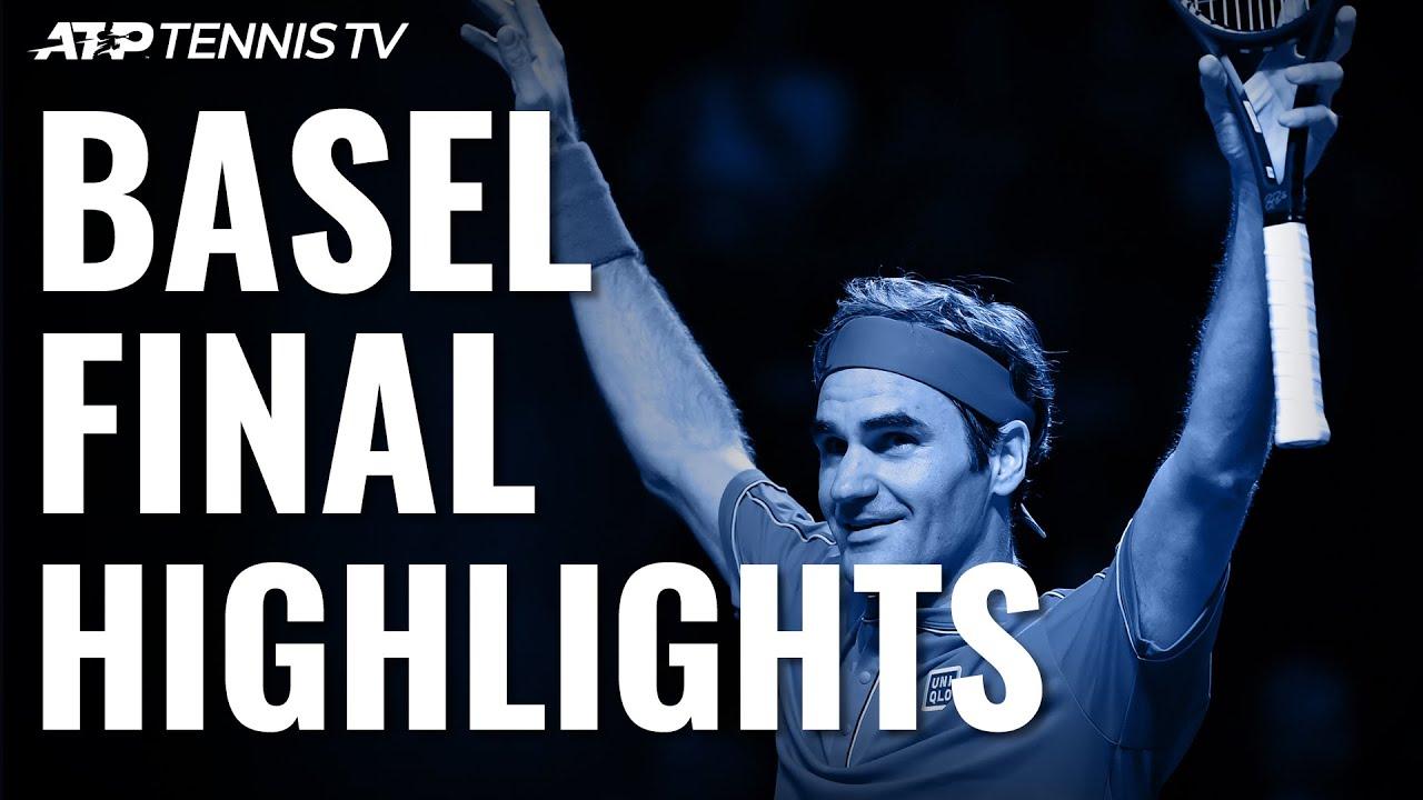 Обзор финала Федерер - де Минор на турнире в Базеле (ВИДЕО)