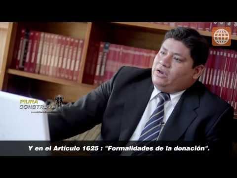 Asesoría Legal - Donación de predio