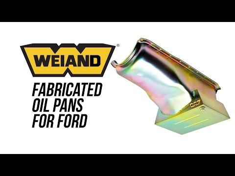 Weiand Fabricated Oil Pans For Ford