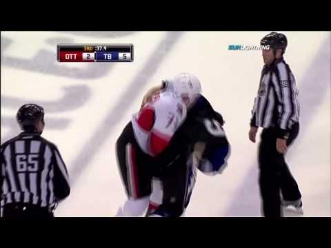 Steve Downie vs. Jarkko Ruutu