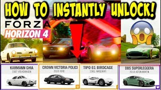 Forza Horizon 4 - HOW TO *INSTANTLY* COMPLETE AND UNLOCK THE AUTUMN SEASON! (EARLY!)
