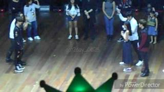 [FanCam] 161223 Got7 in Manila 'Name that Action' Game Mark Focus