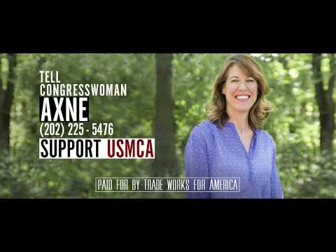 Tell Representative Cynthia Axne to Vote YES on the USMCA