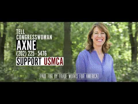 Tell Representative Cynthia Axne to Vote YES on the USMCA